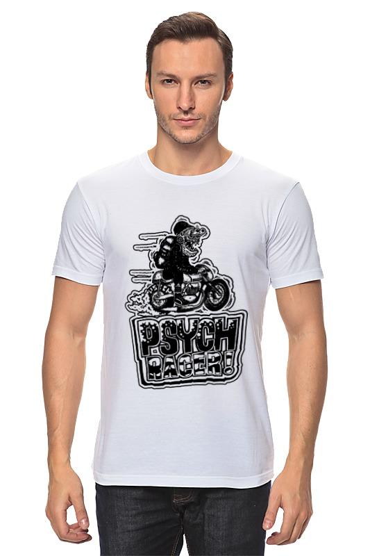 Футболка классическая Printio Fink racer цены