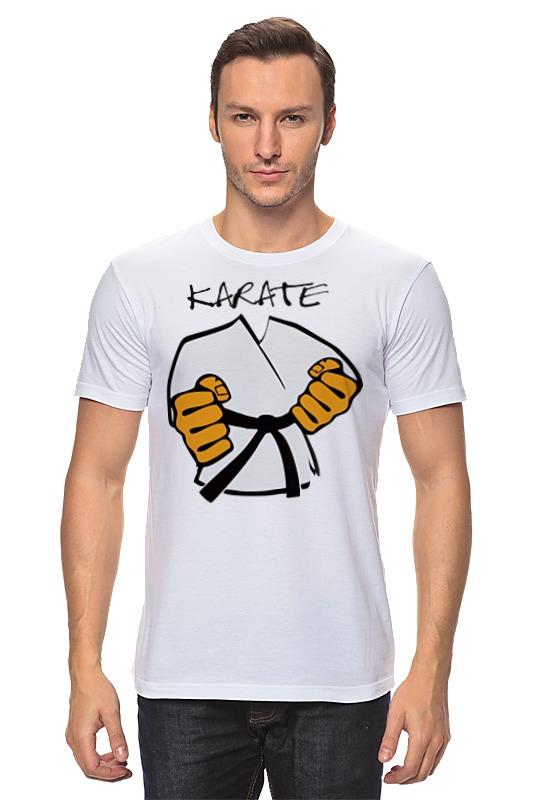Футболка классическая Printio Карате кимоно ги karate deppa art case чехол для apple iphone 5 5s black тигр