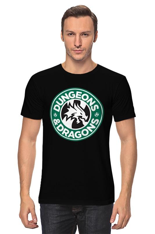 Футболка классическая Printio Dungeons & dragons майка классическая printio dungeons