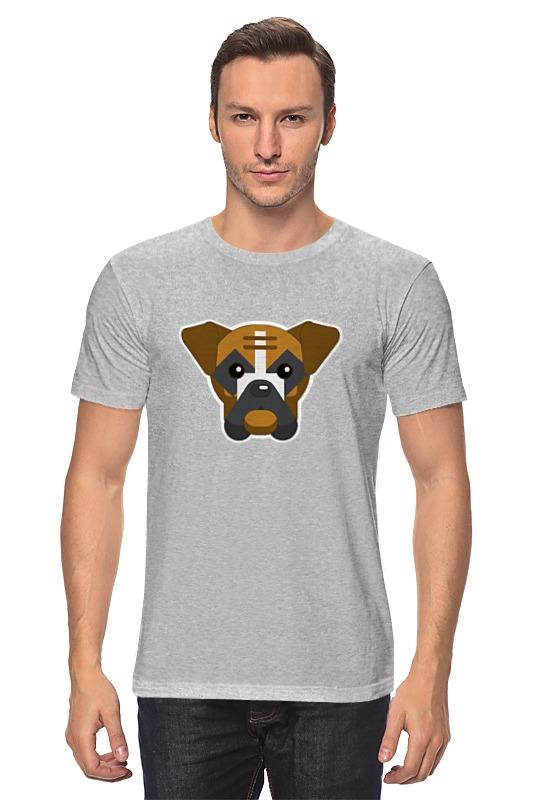 Футболка классическая Printio Собака футболка классическая printio акварельная новогодняя забавная собака