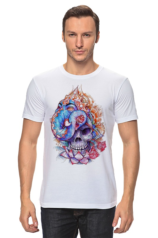 Футболка классическая Printio Skull art худи print bar skull