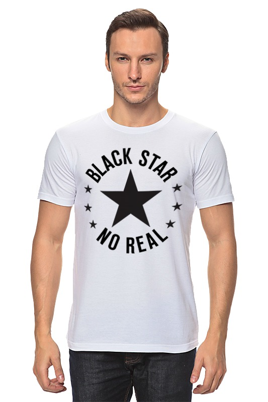 Футболка классическая Printio Black star футболка black star wear футболка женская girls