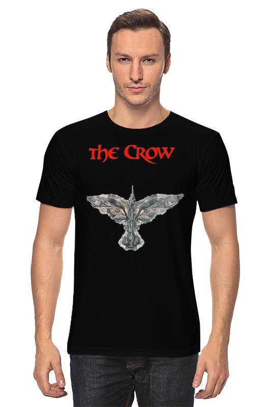 Футболка классическая Printio The crow брэндон т тетка чарлея