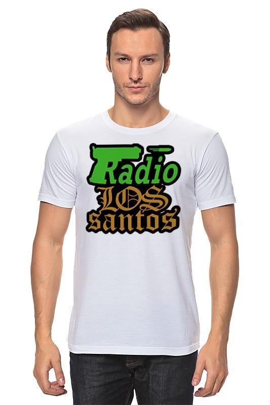 Футболка классическая Printio Radio los santos футболка wearcraft premium slim fit printio gta los santos grand theft academy