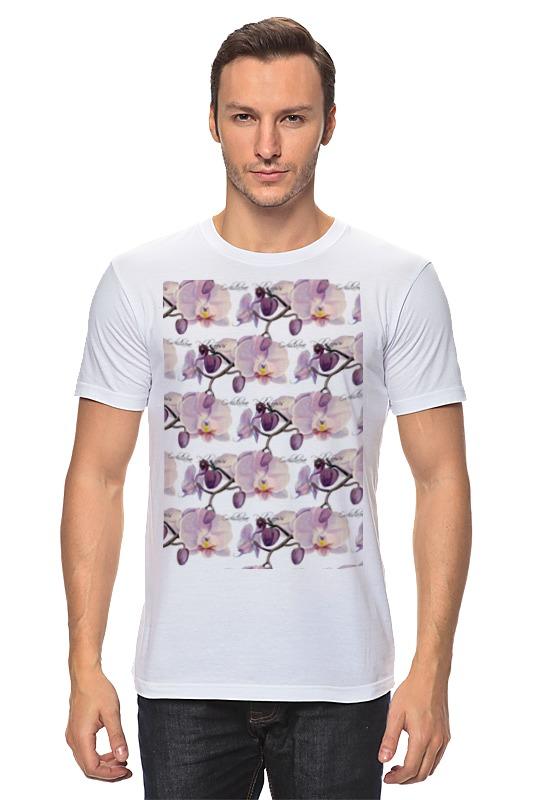 Футболка классическая Printio Ветка орхидеи поло print bar ветка