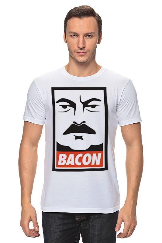 Футболка классическая Printio Bacon (obey) francis bacon in the 1950s