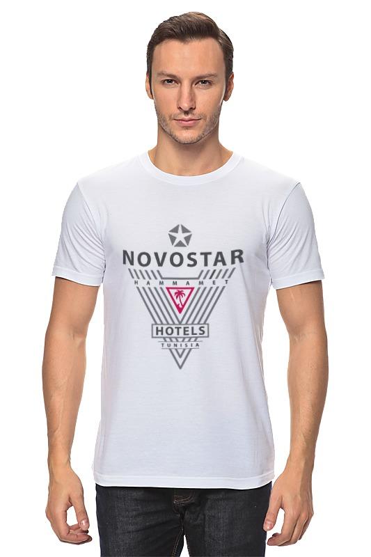 Футболка классическая Printio Novostar hotels тунис triangles