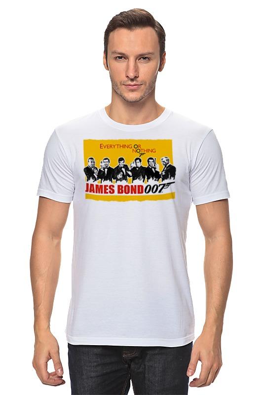 Футболка классическая Printio James bond