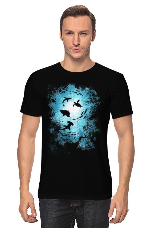 Футболка классическая Printio Подводный мир де ла бедуайер камилла подводный мир