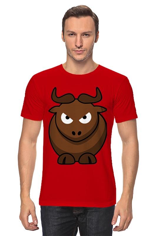 Футболка классическая Printio Злой бык лонгслив printio злой бык