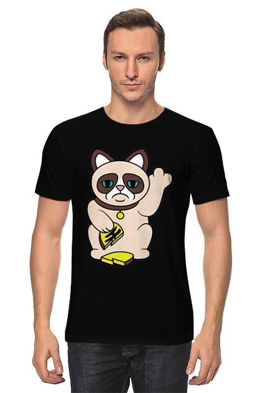 Футболка классическая Printio Grumpy cat