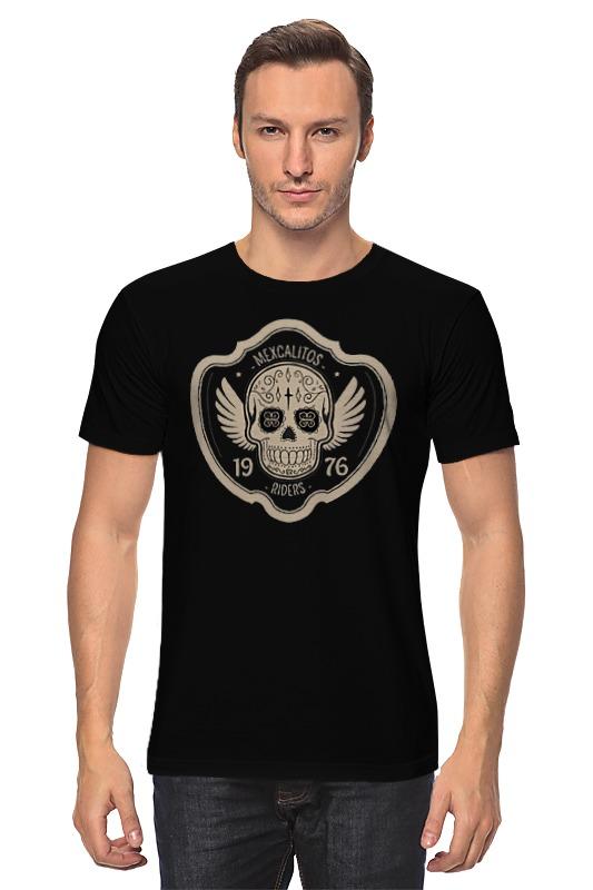 Футболка классическая Printio Байкерк-луб mexcalitos riders футболка rude riders футболка