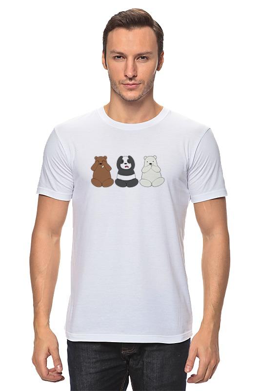 Футболка классическая Printio Медведи и панда лонгслив printio медведи и панда