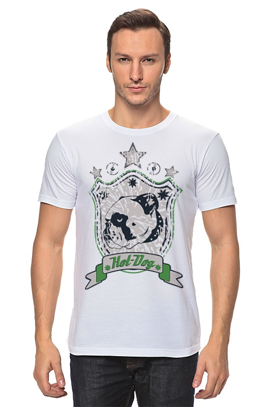 Футболка классическая Printio Бульдог футболка классическая printio gta 5 dog