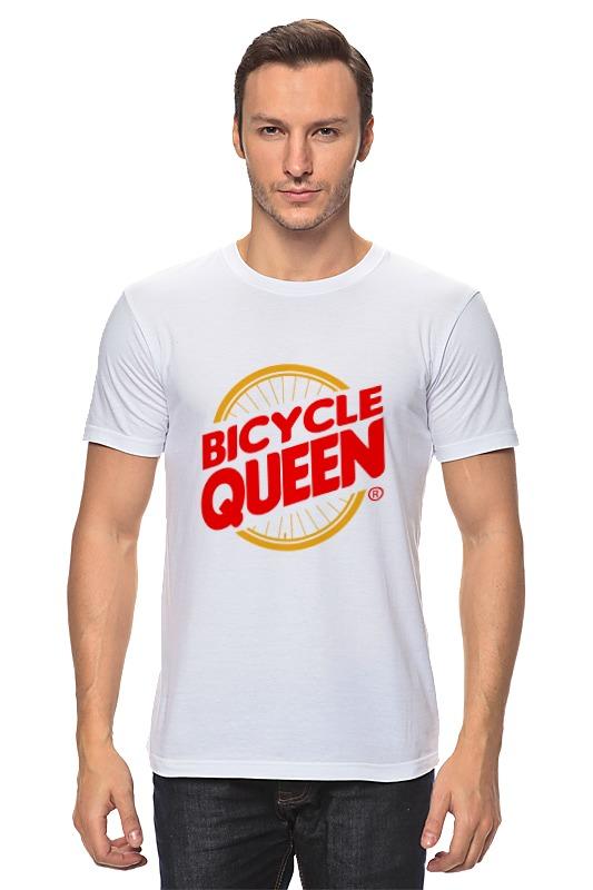 Футболка классическая Printio Велосипедная королева