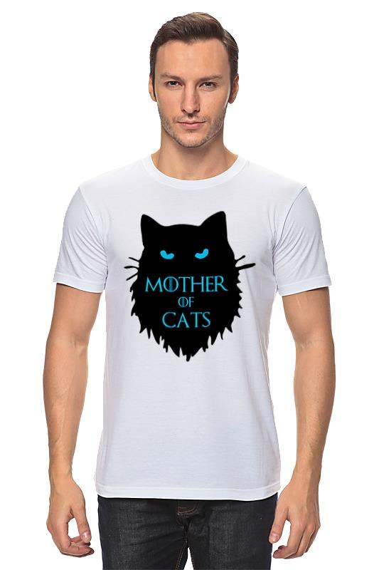 Футболка классическая Printio Mother of cats