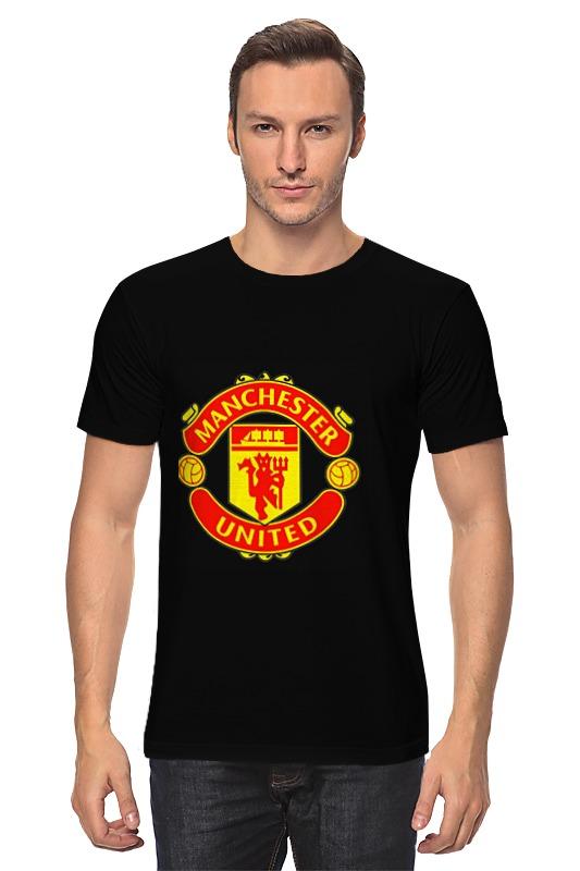 Футболка классическая Printio Manchester united glasvegas manchester
