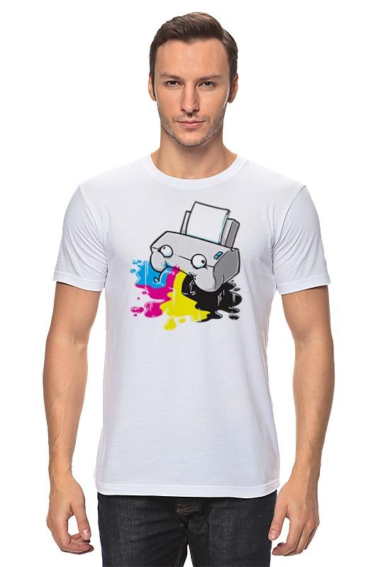 Футболка классическая Printio Принтер принтер