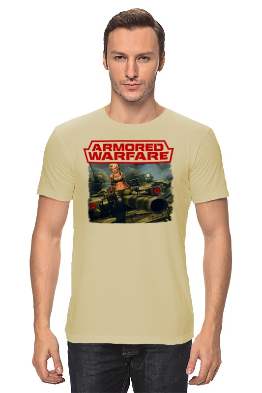 Футболка классическая Printio Armored warfare