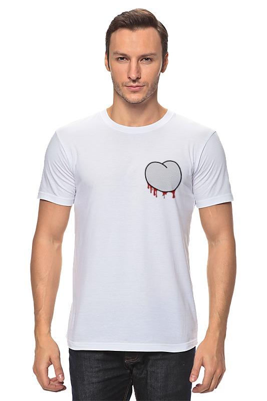 Футболка классическая Printio Вырезанное сердце 2 футболка классическая printio 62 2% в саратове