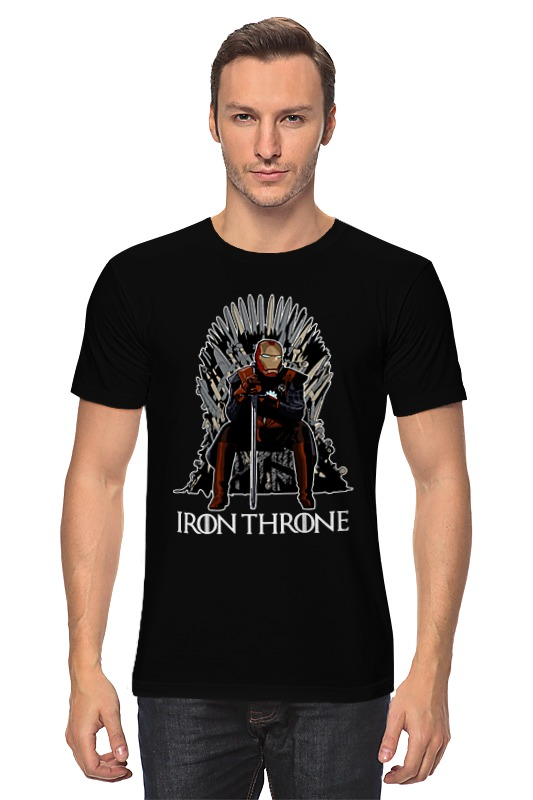 Футболка классическая Printio Iron throne tama ht530bc wide rider drum throne cloth top