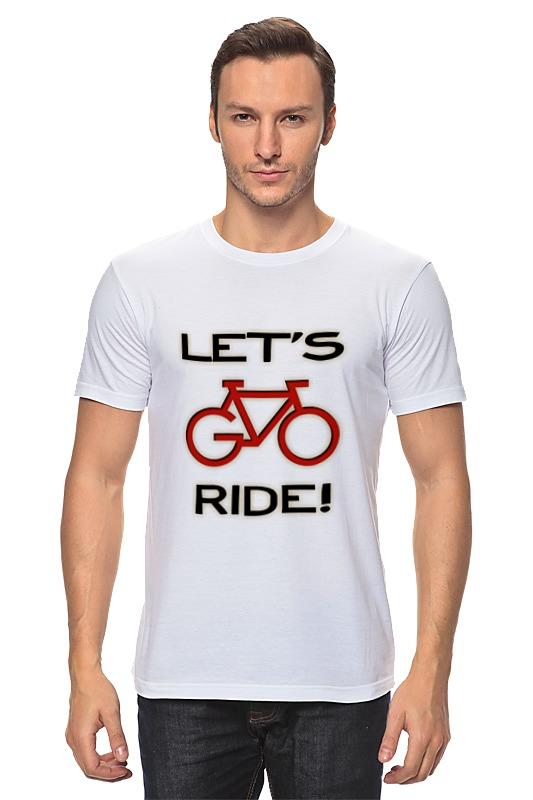 Футболка классическая Printio Lets go ride