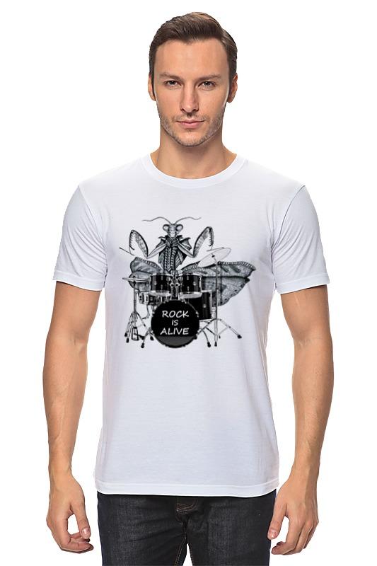 Футболка классическая Printio Богомол-барабанщик богомол s e019