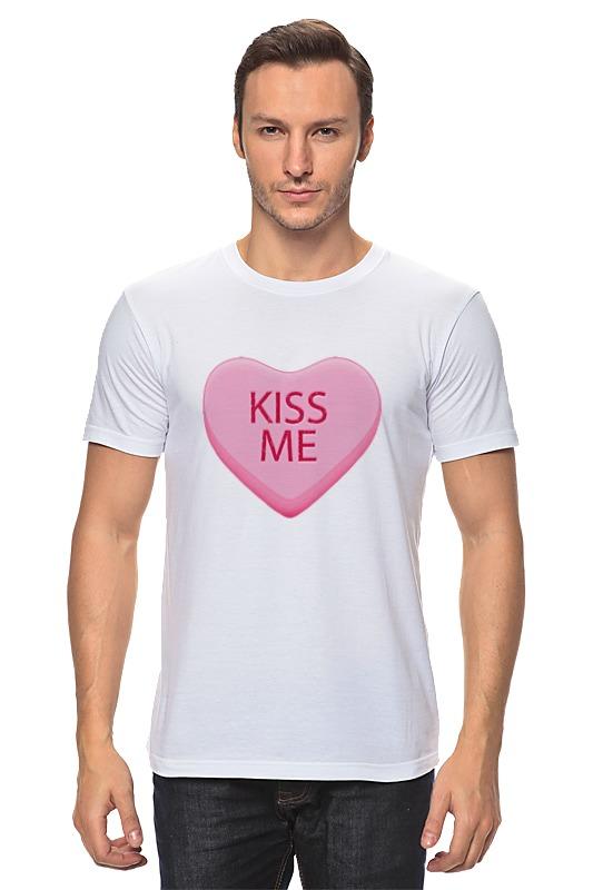 Футболка классическая Printio Поцелуй меня футболка классическая printio поцелуй меня