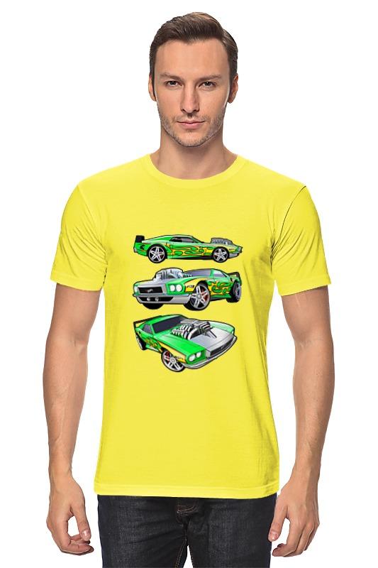 Футболка классическая Printio Автомобили aideli жёлтый цвет 45 ярдов