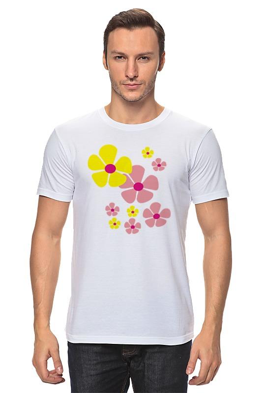 Printio Желтые и розовые цветы цена и фото