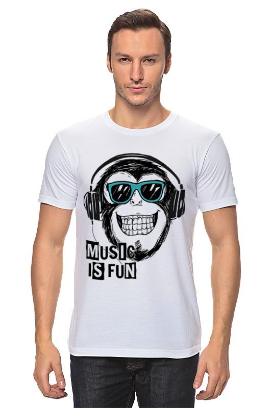 Футболка классическая Printio Music is fun fun is not expensive аксессуар для техники