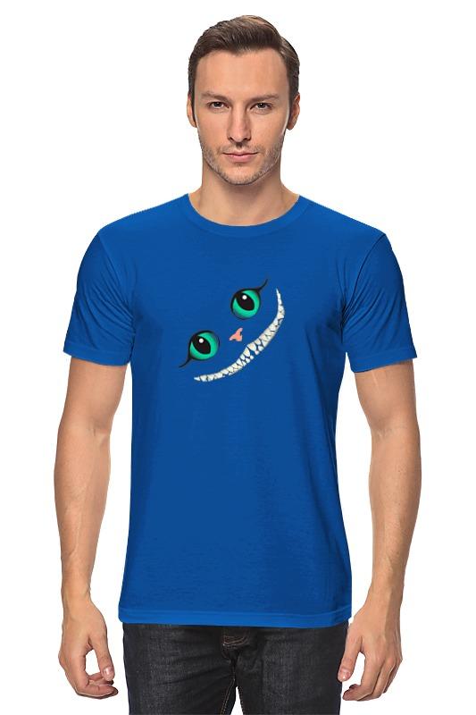 Футболка классическая Printio Улыбка кота футболка классическая printio футболка улыбка