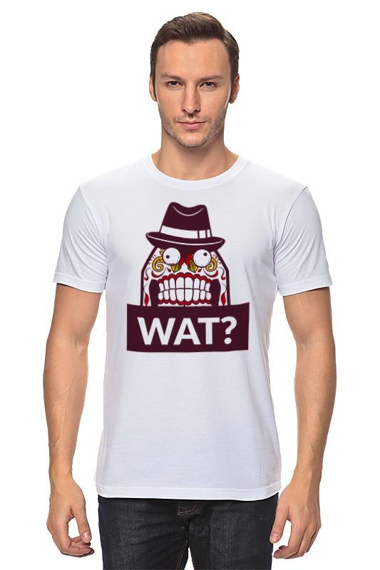 Футболка классическая Printio Wat? футболка классическая printio wat