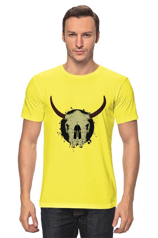 Футболка классическая Printio Skull bull цена