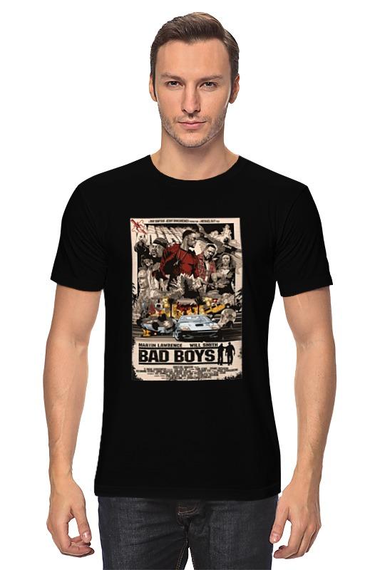 Футболка классическая Printio Плохие парни (bad boys) свитшот print bar плохие кролики