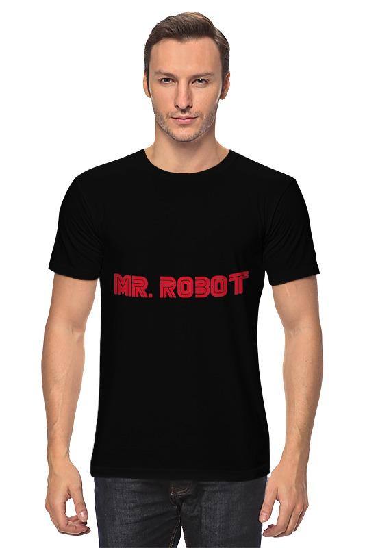 Футболка классическая Printio Mr. robot