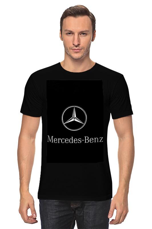 Футболка классическая Printio Mercedes benz источник света для авто eco fri led t10 501 w5w canbus cree mercedes benz c250 c300 e350 e550 ml550 r320 r350 2 x