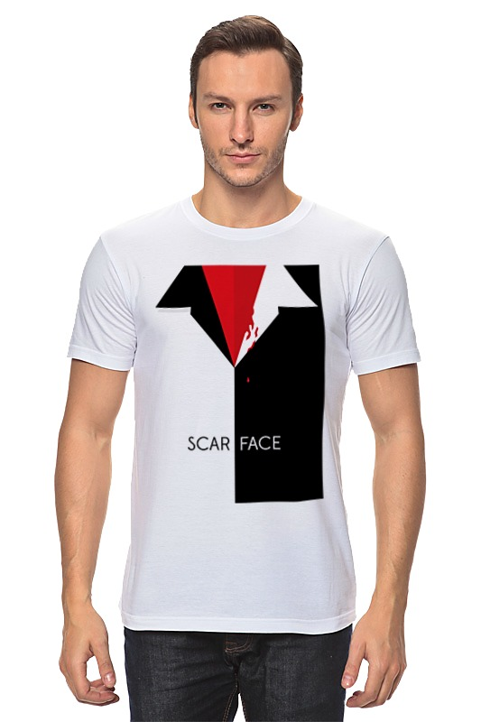 Printio Лицо со шрамом (scarface) футболка классическая printio тони монтана лицо со шрамом