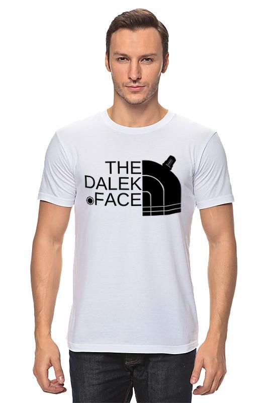 Футболка классическая Printio Далек (доктор кто) футболка рингер printio доктор кто doctor who