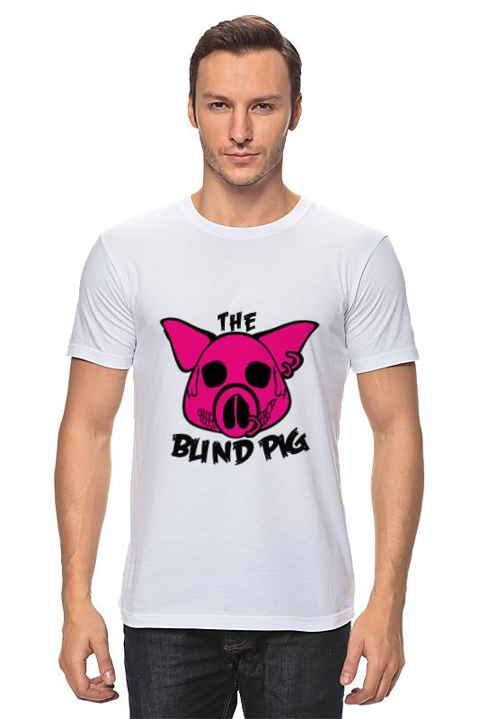 Футболка классическая Printio The blind pig #2 convex wide angle car blind spot mirror black 2 pcs