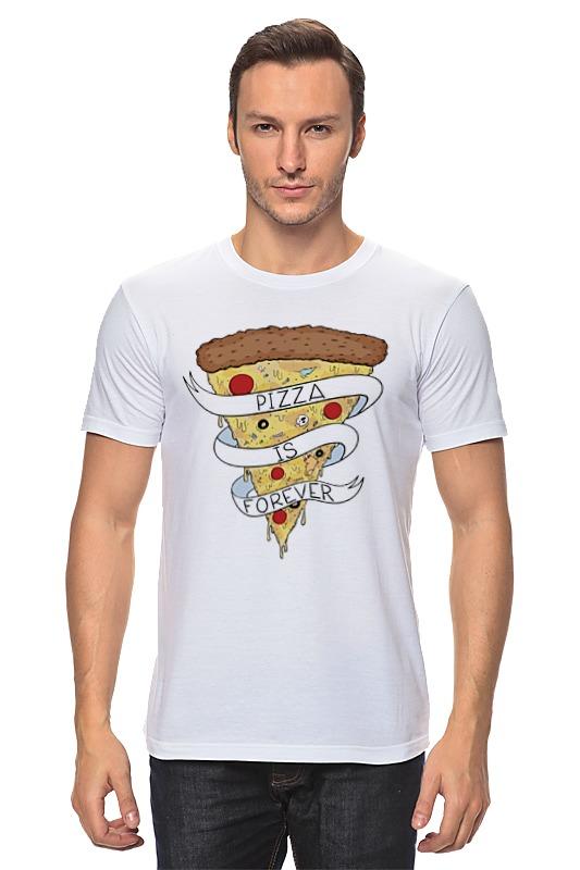 Футболка классическая Printio Пицца навсегда (pizza forever) пицца pizza 8
