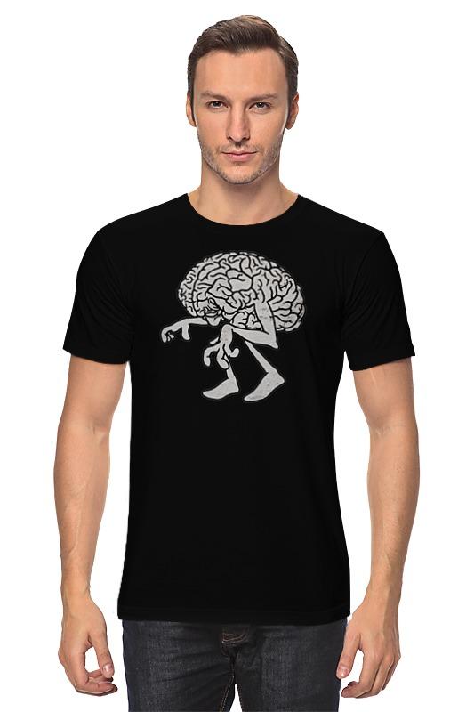 Футболка классическая Printio Brain / мозг футболка классическая printio the brain eaters