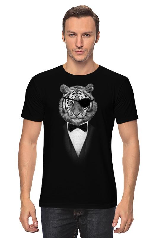Футболка классическая Printio Одноглазый тигр детская футболка классическая унисекс printio одноглазый тигр