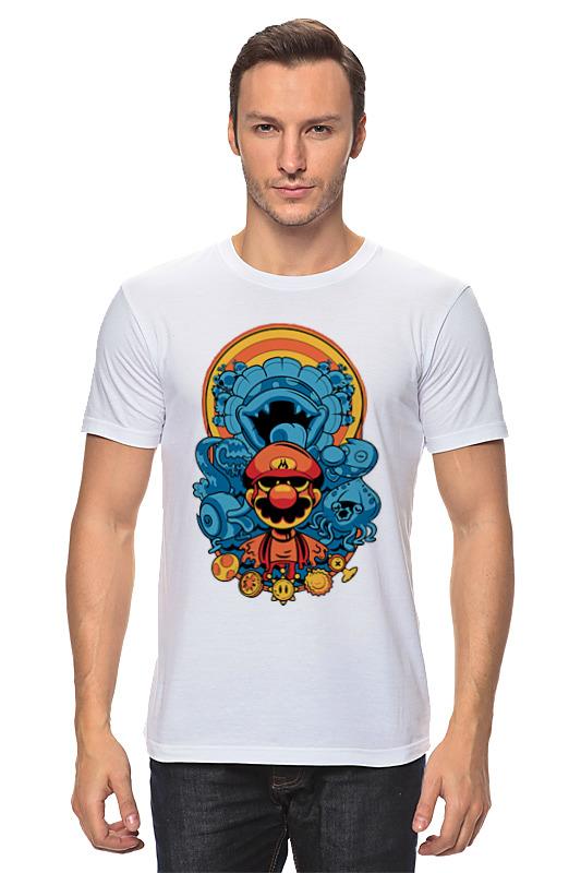 Футболка классическая Printio Марио printio футболка стрэйч