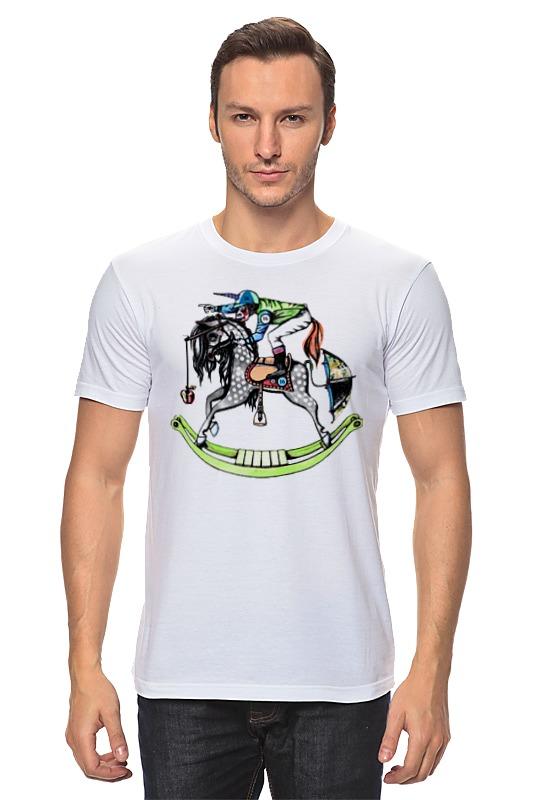 Футболка классическая Printio Обезьяна на коне