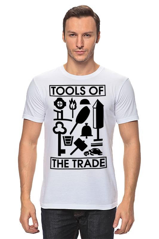 Футболка классическая Printio Инструменты торговли (профессии) инструменты