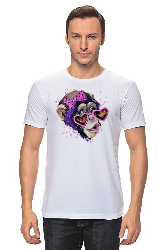 Футболка классическая Printio Art monkey 2016 футболка классическая printio hamlet monkey