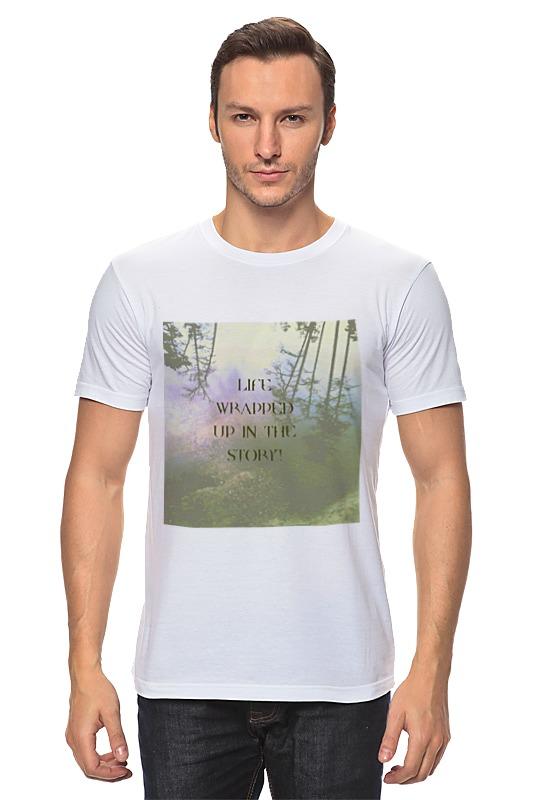 Футболка классическая Printio Стиль арт-фэшн pine forest футболка трикотажная фэшн черная