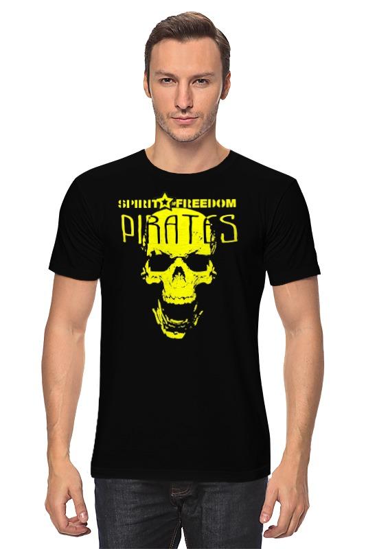 Футболка классическая Printio Pirates.spirit of freedom ! freedom of creation украшение для стола