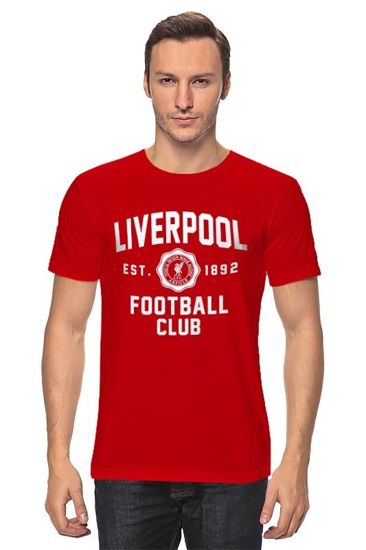Футболка классическая Printio Ливерпуль цены онлайн